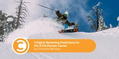 5 Digital Marketing Predictions for the 2018 Olympic Games http://ift.tt/2E8LzWz  Beginning February ninth the neglected cable boxes that occupy our living rooms will get some much-needed attention. All month Americans will switch on the tube to ignite dormant dreams of snow-dusted Olympic fame.  Or if youre like me with no cable to speak of youll frantically search the world wide web for Olympic coverage. Thankfully sports networks are leaders in the global adaptation to digital.  With the…