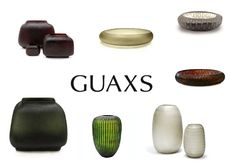 Lots of Guaxs German glass company products in store at the moment!