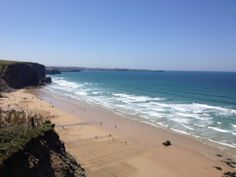 Our beach of the week is the golden Watergate Bay! Have you been before? What did you get up to?