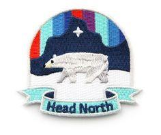 HEAD NORTH Aufnäher