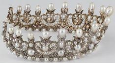 Tiara Mania: Empress Eugénie of France's Pearl Diadem