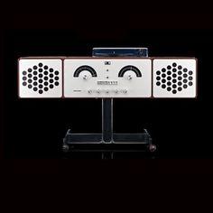 Radiofonografo Brionvega RR226 design Achille e piergiacomo Castiglioni
