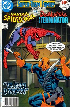 Super-Team Family: The Lost Issues!: Spider-Man Vs. Deathstroke The Terminator
