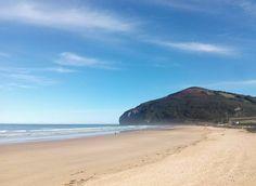 24/01/16 Un día excepcional para disfrutar de una playa maravillosa. ¡Santoña te espera!