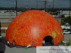inflatable structures and tents