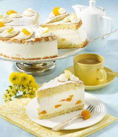 Zitronen-Quark-Sahne-Torte (Ø 26 cm) Rezept   Dr. Oetker