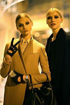 Anna Selezneva and Hana | Paris