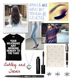 """Walking through the mall"" by pattynavarro on Polyvore featuring Bullhead Denim Co., Bobbi Brown Cosmetics, tarte, Pandora, Sugar Paper, Montegrappa, East of India, women's clothing, women and female"