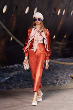 All of the Looks from Chanel's Epic Cruise Collection It's a good day when Chanel goes Nautical...
