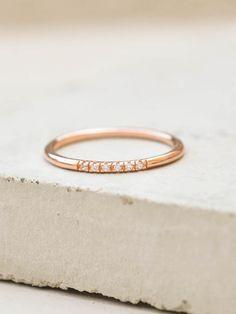 Petite Stacking Ring - Rose Gold