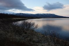 Laugarvatn Lake at Sunset, 10:30 PM May 26, 2016.  Photo by Susan Singer.  www.susansinger.com Iceland In May, Iceland Pictures, Singer, Mountains, Places, Travel, Beautiful, Viajes, Singers