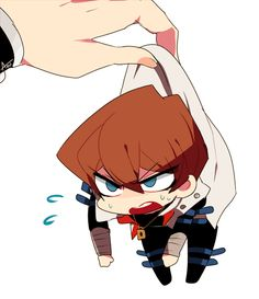 Yu-Gi-Oh - Chibi Seto Kaiba - AAAAAH Omg this is so cute!!!!