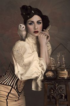 And an owl too... #steampunk - ☮k☮