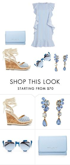 """""""Untitled #442"""" by crazybookladysuzejn ❤ liked on Polyvore featuring Sole Society, Oscar de la Renta, Dolce&Gabbana and Marc Jacobs"""