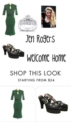 """Welcome Home"" by jdefloria on Polyvore featuring Kobelli"