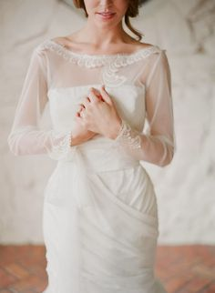 20 Pretty Perfect Long Sleeve Wedding Dresses