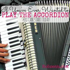 Hey, be the life of a polka party! Check out the video to see if this is for you. Accordion Music, World Music, Choir, Best Part Of Me, Orchestra, Laughing, Piano, Music Instruments, Songs