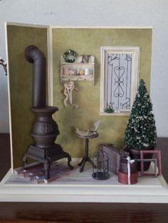 クリスマスドールハウス2012
