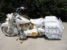 Harley vintage panhead flh flt shovelhead saddlebags saddlebag hinges set