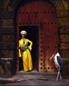The Athenaeum - The Marabou (Jean-Léon Gérôme - )