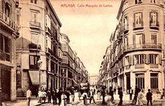 Malaga, Calle Marques de Larios