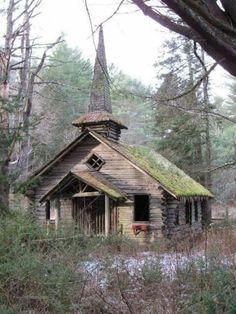 Abandoned country church, still beautiful