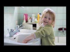 chansons pour laver les mains et eternuer dans la manche!