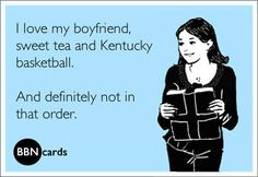 Kentucky girls, haha