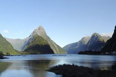 Landmark Mitre Peak m), South Island, New Zealand. You can add the landmark on your 'visited' or 'want to visit' landmarks list. Milford Track, Milford Sound, Honeymoon In New Zealand, Places To Travel, Places To See, New Zealand Adventure, Visit New Zealand, South Island, Where To Go