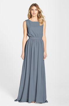 Love the new Paper Crown line from @laurenconrad1! The 'Tori' Crepe Gown is so classic.