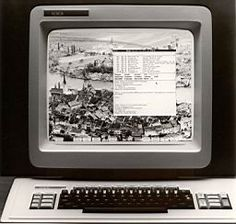 1981 Xerox Star the first GUI and inspiration for the Macintosh