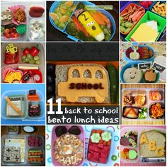 Back to School Bento Lunch Ifeas