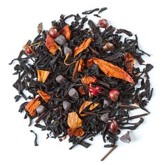 """Chocolate Chili Chai -Is winter giving you the shivers? Try this spiced southwest chai. A blend of black tea, chocolate and Ancho and Aleppo chilis, it gives new meaning to the term """"hot chocolate. Chocolate Chili, Chocolate Flavors, Chinese Black Tea, Davids Tea, Best Tea, My Tea, Tea Time, Teas, Aleppo"""