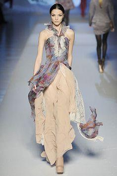 Etro Fall 2008 Ready-to-Wear Fashion Show - Mariacarla Boscono