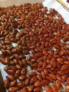 MAPLE PUMPKIN SPICE ALMONDS a great treat to have handy all season long