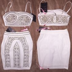 Two piece from House of CB (CelebBoutique) This two-piece is so adorable. It's a great quality outfit. House of CB Dresses