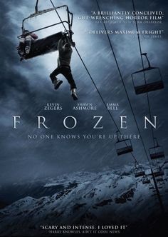 FROZEN Written and Directed by Adam Green. Starring Kevin Zegers, Shawn Ashmore and introducing Emma Bell. Come and check out some of our other new channels! Frozen Movie, Movie Tv, Real Frozen, Frozen Disney, Movie List, Pixar, Shawn Ashmore, Dvd Film, Image Film
