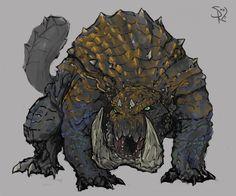 Tetsucabra, the Demon Frog by Halycon450 on DeviantArt