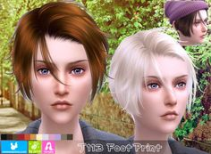 NewSea: J113 Foot Print hair for her - Sims 4 Hairs - http://sims4hairs.com/newsea-j113-foot-print-hair-for-her/