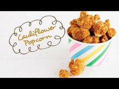 Cauliflower Popcorn  | FOOD MATTERS® fabulous... although I might swap the rice flour for tapioca flour instead ;)