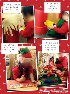 Rock My Classroom – Irresistible early Years ideas for your indoor and outdoor provision…. Christmas Party Games, Preschool Christmas, Christmas Activities, Christmas Themes, Dramatic Play Area, Dramatic Play Centers, Eyfs Activities, Children Activities, Class Activities