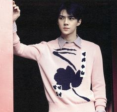 Sehun from LOVE ME RIGHT album Korean ver & Chinese ver.