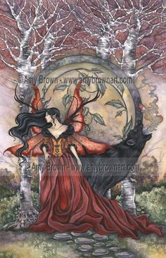 """Beauty and the Beast"" PRINTS-LIMITED EDITION - Large Limited Editions - Amy Brown Fairy Art - The Official Gallery"