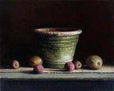 Willie Berkers - Realistic romantic painting Romantic Paintings, Still Life, Mushroom, Artists, Fruit, Food, Art, The Fruit, Meals