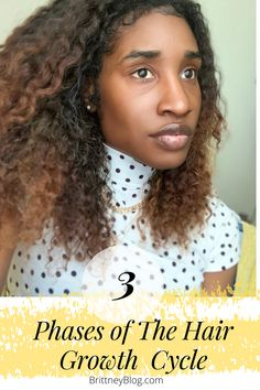 3 Phases in The Hair Growth Cycle