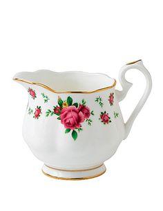 Royal Albert New Country Roses White Vintage Formal Creamer