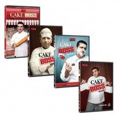 Cake Boss Seasons 1 - 4 DVD Set $129.80 #CakeBoss