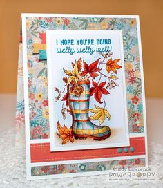 Feeling Fall Stamp Set | Power Poppy by Marcella Hawley