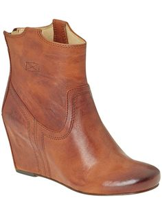 Frye boots- these would be pretty cute though too, and they have a heel so I wouldn't have to hem my dress that much..