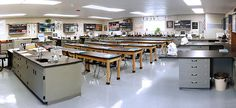 a science lab portable classroom